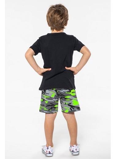 Lupiakids Yeni Gang Şort+Tshirt Takım Renkli